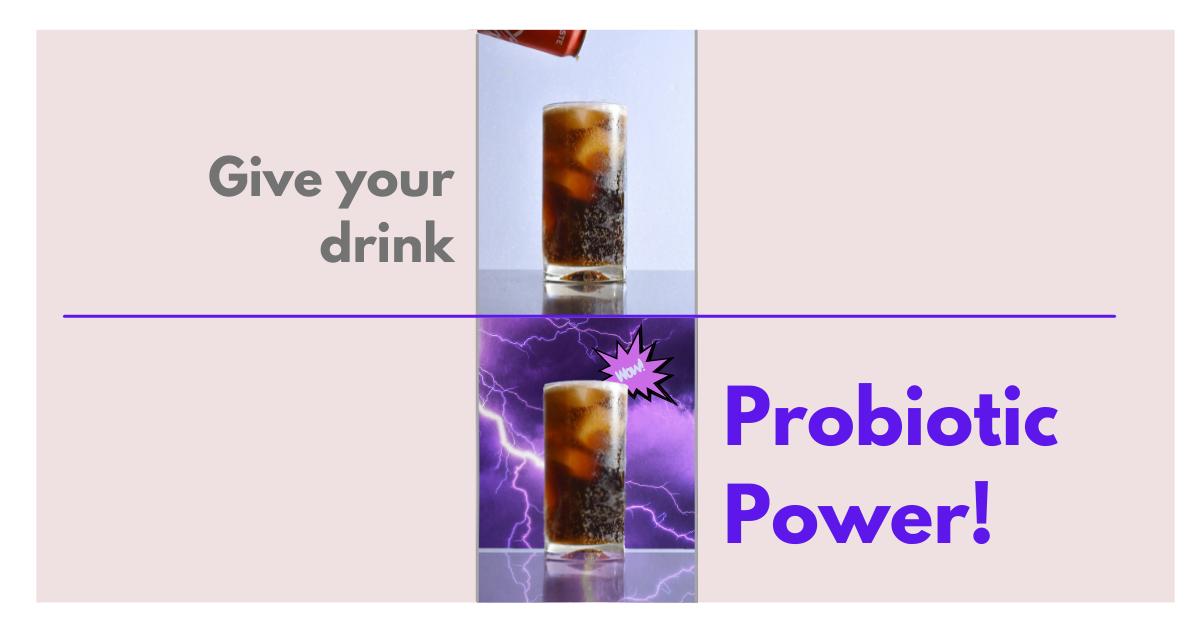 Coke plus lightning blog shape for FB