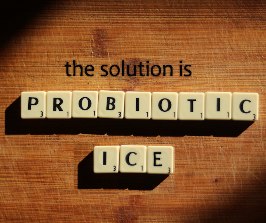 The Simple Choice is Probiotic Ice